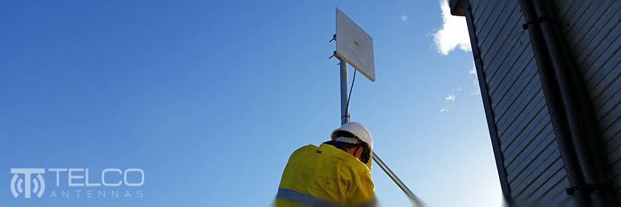 wireless network contracting point to point communications subcontractor qld