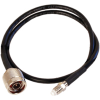 LCU195 0.5m Coaxial Cable - N Male to FME Female