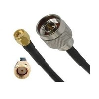 LCU195 1.5m Coaxial Cable - N Male to RP-SMA Male