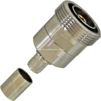 7/16 DIN Female Low PIM Connector - LMR400/RG8