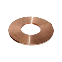 Copper Grounding Downconductor Strap - 70mm2