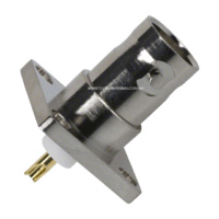 BNC Female Flange Bulkhead Panel Mount