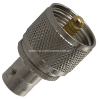 BNC Female to UHF Male Adapter