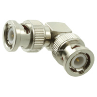 BNC Male to BNC Male Right Angle Adaptor