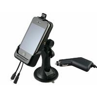 Smoothtalker iPhone 4 & 4S Cradle with Suction Mount, Charger and Antenna Connection