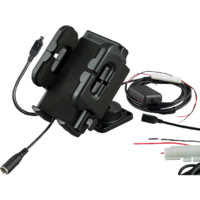 Smoothtalker Universal Cradle with Dash Mount, Hard Wired, Charger and Antenna Connection