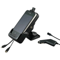 Smoothtalker iPhone 4 & 4S Cradle - Dash Mount, Charger & Antenna Connection