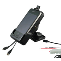 Smoothtalker iPhone 4 & 4S Cradle with Dash Mount, Hard Wired with Antenna Connection