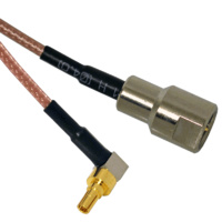 CRC9 to FME Male Patch Lead - 15cm Cable
