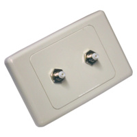 Dual FME Wall Plate Kit