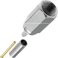 FME Male Crimp Connector - RG174/RG316/LMR100