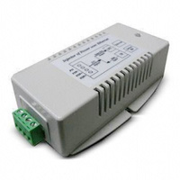 DC-DC Power over Ethernet Injector - 24VDC to 56VDC 802.3at PoE+