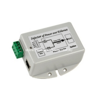 DC-DC Passive Power over Ethernet Injector - 9VDC to 36VDC providing a Max Load of 24V / 0.8A