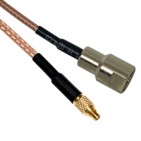 MMCX to FME Male Patch Lead - 15cm Cable