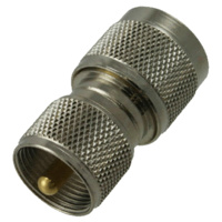 N Male to UHF Male Adapter