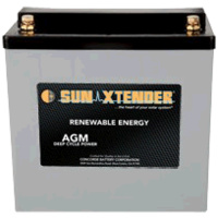 Concorde SunXtender 45Ah 12V Deep Cycle Solar Battery