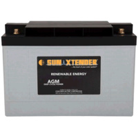 Concorde SunXtender 102Ah 12V Deep Cycle Solar Battery