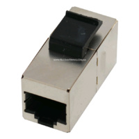 RJ45 Ethernet Cable Joiner - ESD Shielded Cat6