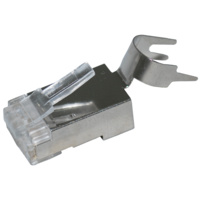 RJ45 Ethernet Crimp Connectors - ESD Shielded Cat6 SF/UTP