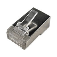 RJ45 Ethernet Crimp Connectors - ESD Shielded Cat6 F/UTP
