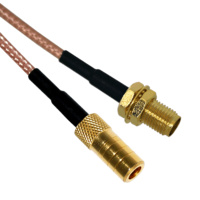 SMB to SMA Female Patch Lead - 15cm Cable