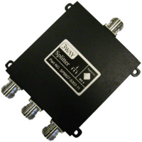 Signal Splitter 3-Way - Weatherproof N Female - 698-2700MHz