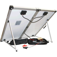 Solawatt Portable 160W Solar Panel System - with Carry Bag
