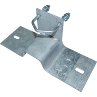 Iron Ridge Mount for Guyed Mast - Includes U-Bolt