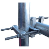 Telco Galvanised Right Angle Clamp Antenna Bracket