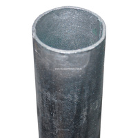 Galvanised CHS - 42mmOD 1163-C350 Pipe - 2mm Thickness: 6.5m Length