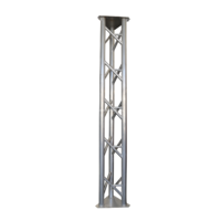 Heavy Duty Serviceable Aluminium Guyed Lattice Tower (400mm Face)