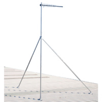 Roof Mounted Serviceable Mast - 5m