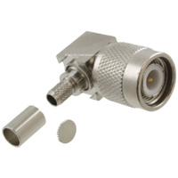 TNC Male Right Angle Connector - RG58/LMR195/Belden 9907