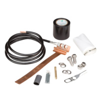"Andrew Mid-Span Grounding Kit - Universal 1/2"" to 1-5/8"" Coaxial Cable"