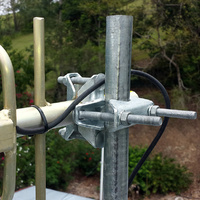 UNV1 Yagi Mounting Antenna Bracket - Right Angle Galvanised