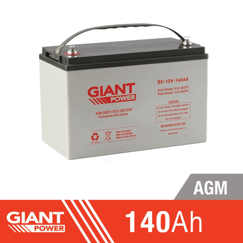 Concorde SunXtender 120Ah 12V Deep Cycle Solar Battery