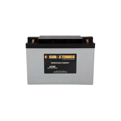 Concorde SunXtender 126Ah 12V Deep Cycle Solar Battery