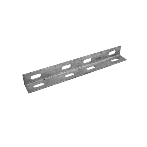 Guy Anchor Plate - L Shaped Galvanised Steel Plate - 4 Pack