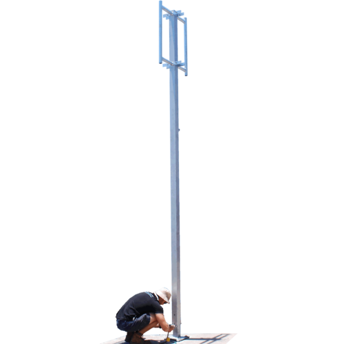 Freestanding Hinged Mast - 10m