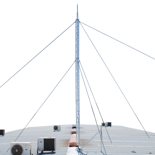 6meter Aluminium Lattice Serviceable Guyed Tower (210mm Faced)