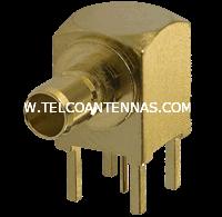 female SSMB jack pcb connector