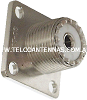 Female SO239 UHF connector