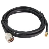 LCU195 0.5m Coaxial Cable - N Male to SMA Male
