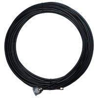 LCU195 15m Coaxial Cable - N Male to SMA Male