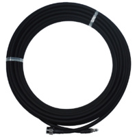 LCU400 15m Coaxial Cable - N Male to FME Female