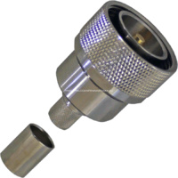 7/16 DIN Male Crimp Connector - LMR400/RG8