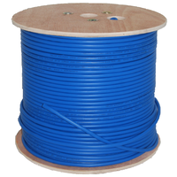 Cat6 Outdoor UV SF/UTP Level-2 Braided Ethernet Cable - 305m Reel