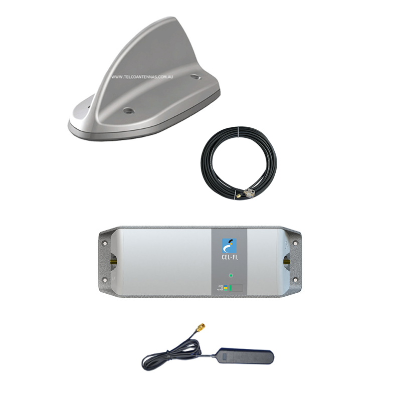 Mobile & Vehicle Cel Fi Go Repeater Kit for Telstra – Low Profile
