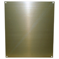 Blank Mounting Plate for N14 Weatherproof Enclosures