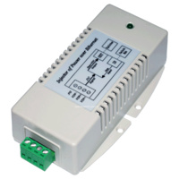 24VDC to 56VDC PoE - Gigabit Power over Ethernet Injector